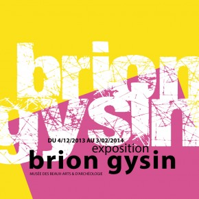 Brion Gysin / soirée hommage