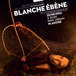 """Spectacle de clôture """"Blanche-Ébène"""" par la Compagnie Graine de vie"""
