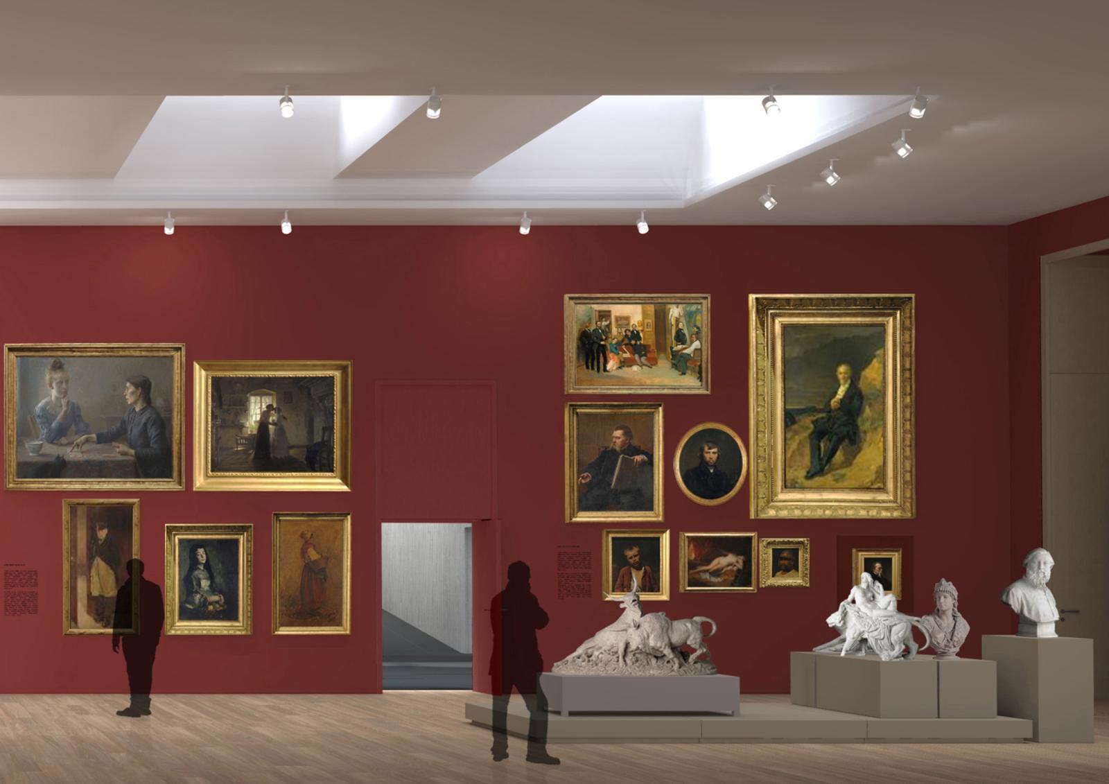 r novation mus e des beaux arts et d 39 arch ologie de besan on. Black Bedroom Furniture Sets. Home Design Ideas
