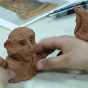 """Atelier """"Portrait modelé"""" (10/12 ans)"""
