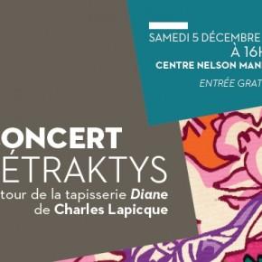 Concert par l'Ensemble Tétraktys / Centre Nelson Mandela