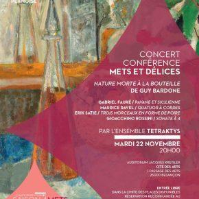 Concert conférence avec l'Ensemble Tetraktys