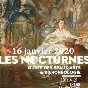 Nocturne au musée - Le jeudi 16 janvier de 18H à 21H