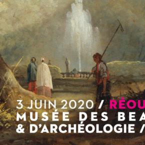 Réouverture du musée des beaux-arts et d'archéologie / Mercredi 3 juin à 10H00